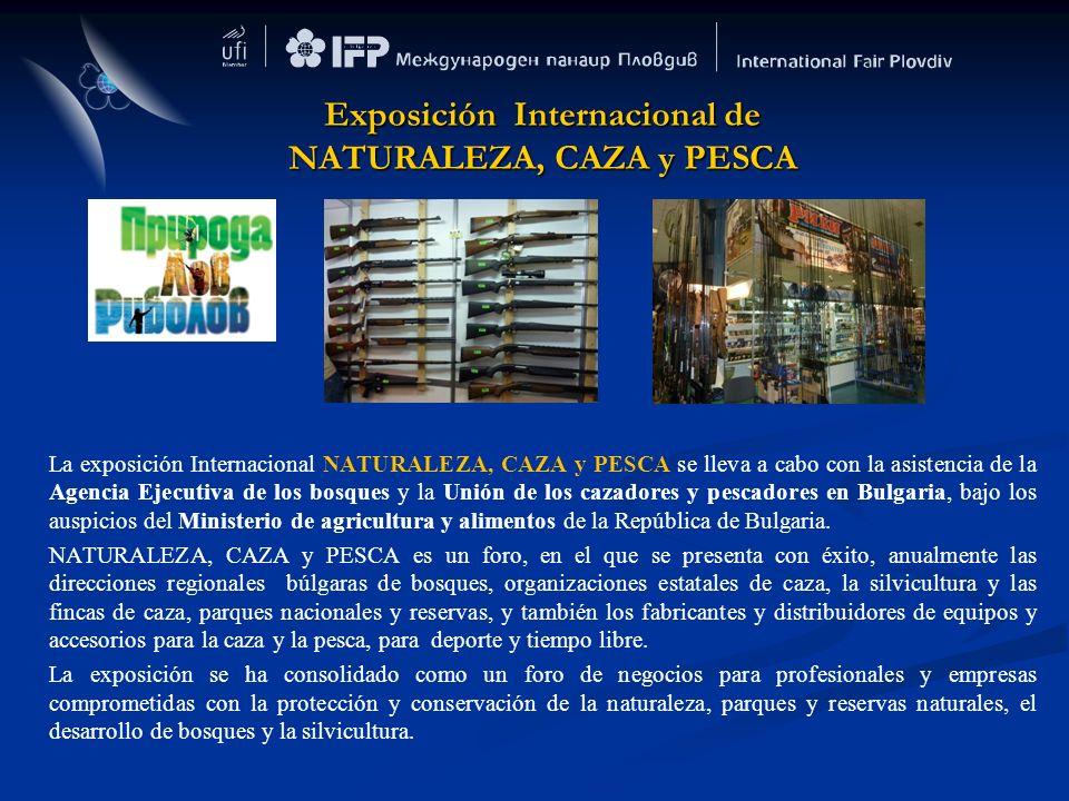 Exposición Internacional de NATURALEZA, CAZA y PESCA