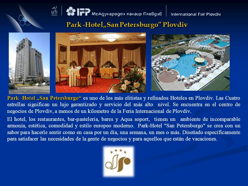 "Park -Hotel""San Petersburgo Plovdiv"