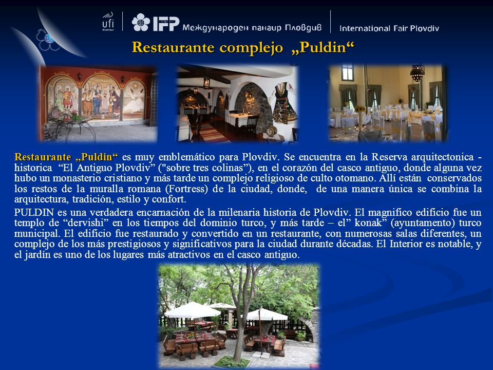 """Restaurante complejo """"Puldin"""