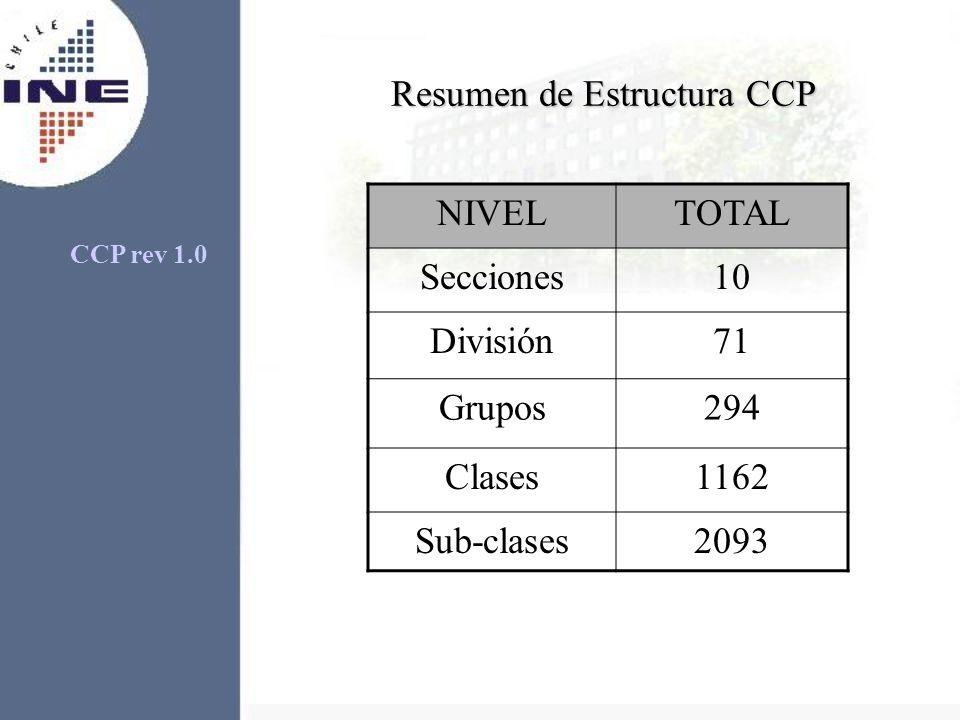 Resumen de Estructura CCP