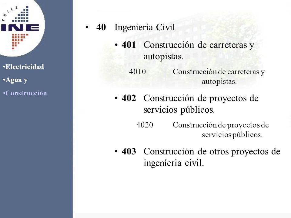 Electricidad Agua y Construcción