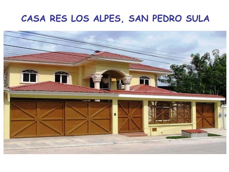 CASA RES LOS ALPES, SAN PEDRO SULA