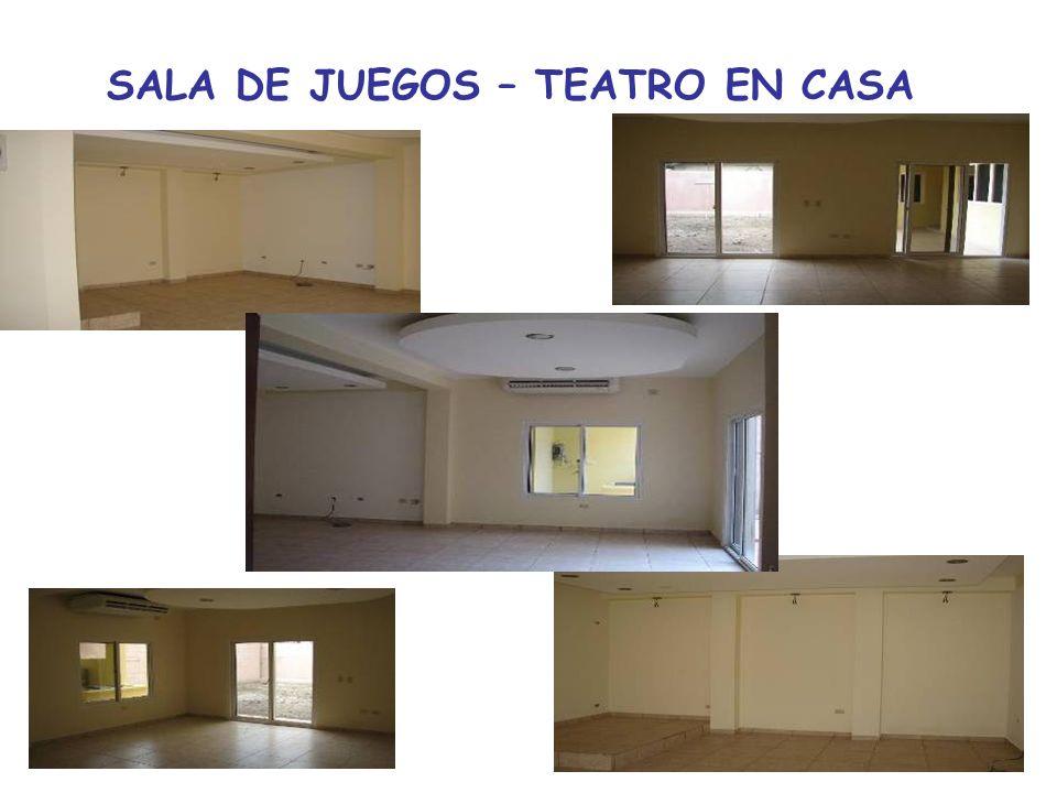 SALA DE JUEGOS – TEATRO EN CASA