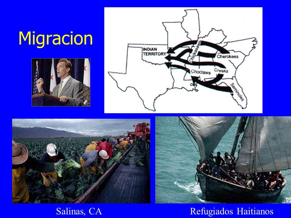 Migracion Salinas, CA Refugiados Haitianos