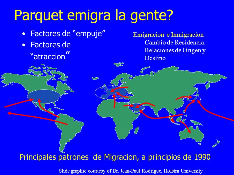 Parquet emigra la gente