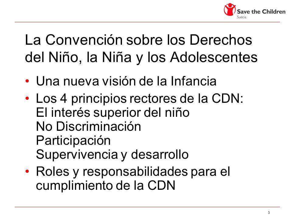 La Convención sobre los Derechos del Niño, la Niña y los Adolescentes