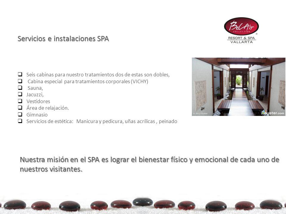 Servicios e instalaciones SPA