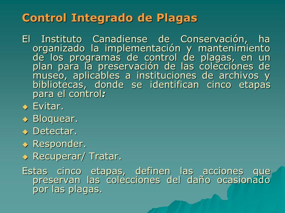 Control Integrado de Plagas