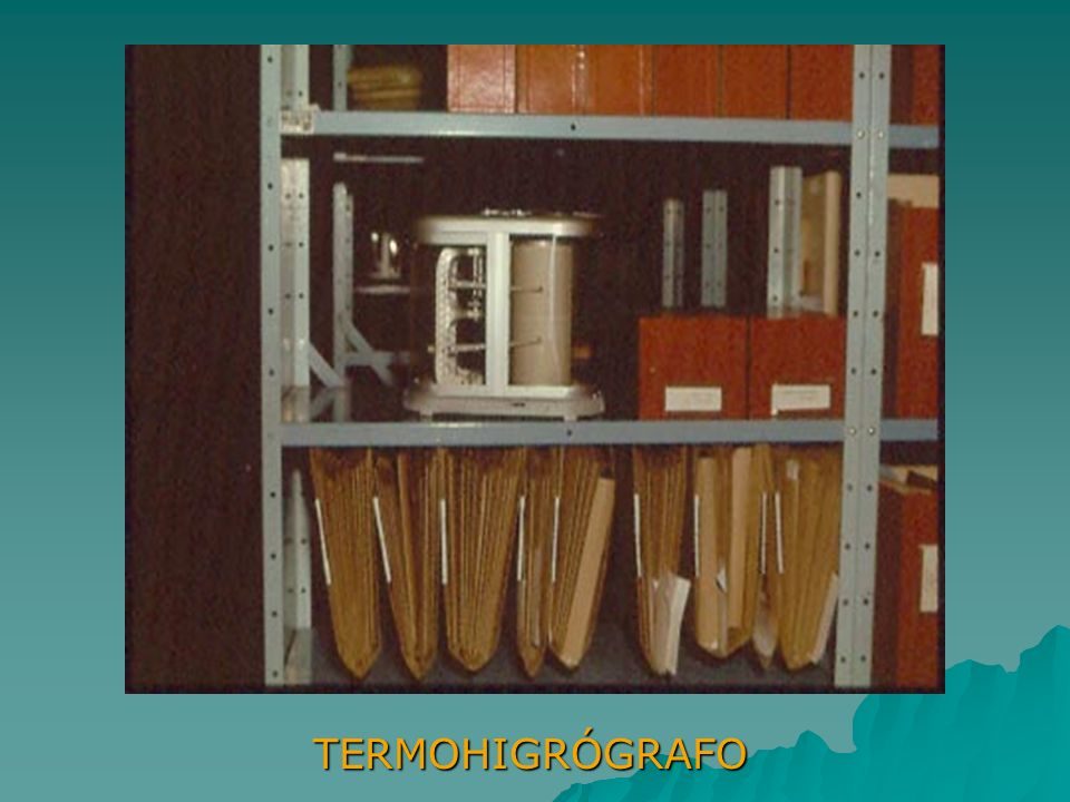 TERMOHIGRÓGRAFO