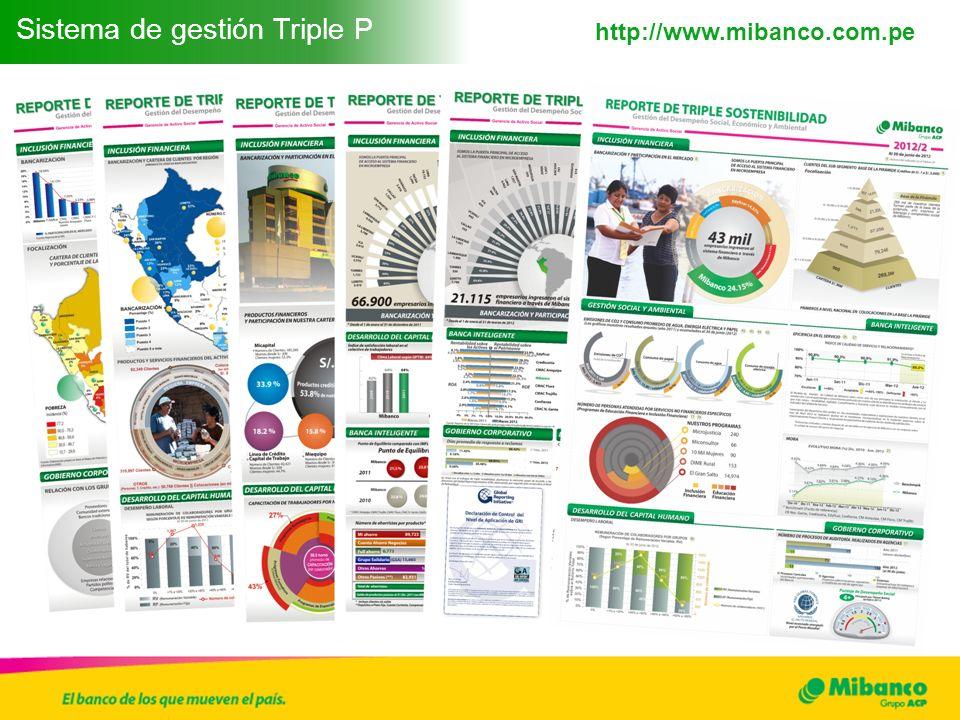 Sistema de gestión Triple P