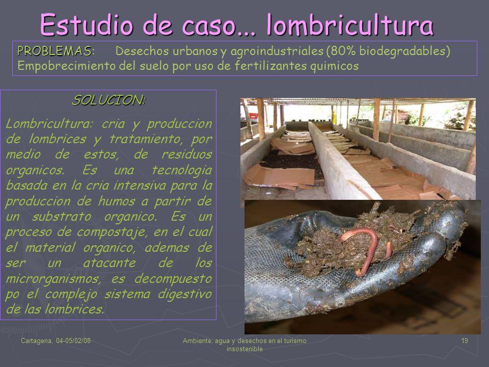 Estudio de caso... lombricultura