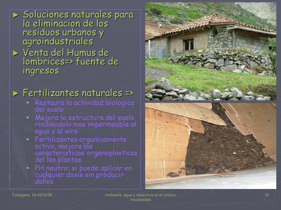 Ambiente, agua y desechos en el turismo insostenible