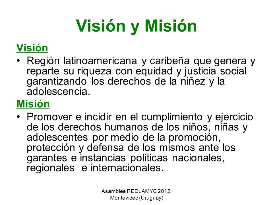 Asamblea REDLAMYC 2012. Montevideo (Uruguay)