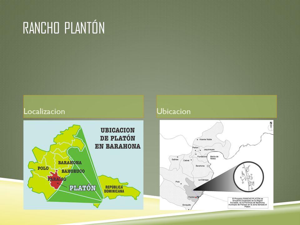 Rancho Plantón Localizacion Ubicacion