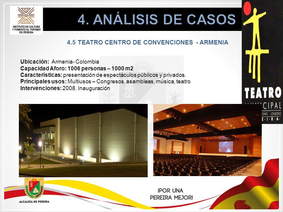 4.5 TEATRO CENTRO DE CONVENCIONES - ARMENIA