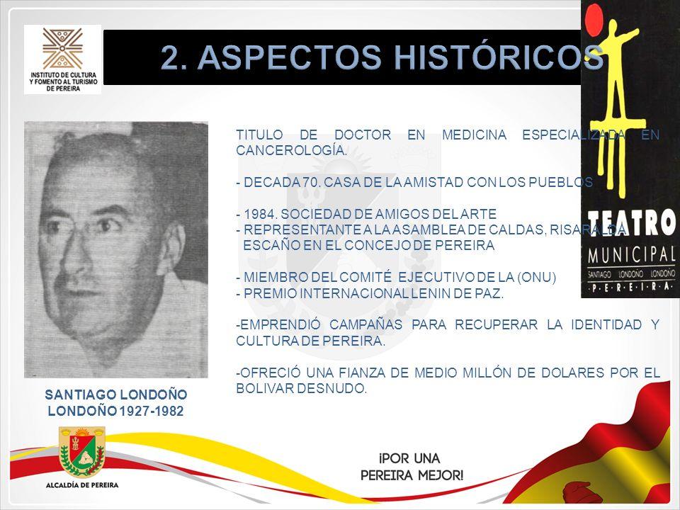 SANTIAGO LONDOÑO LONDOÑO 1927-1982