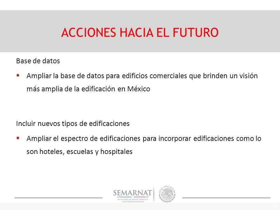 ACCIONES HACIA EL FUTURO