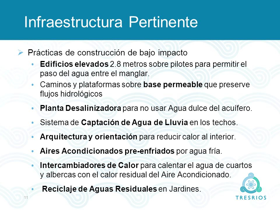 Infraestructura Pertinente