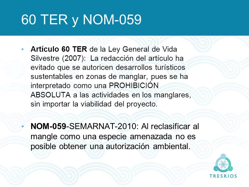60 TER y NOM-059