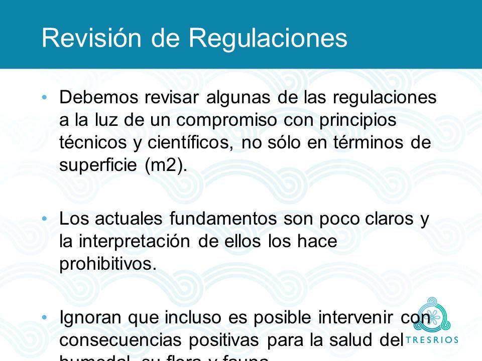 Revisión de Regulaciones