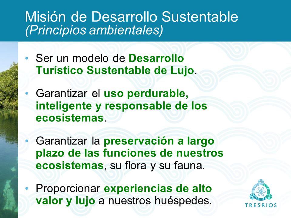 Misión de Desarrollo Sustentable (Principios ambientales)