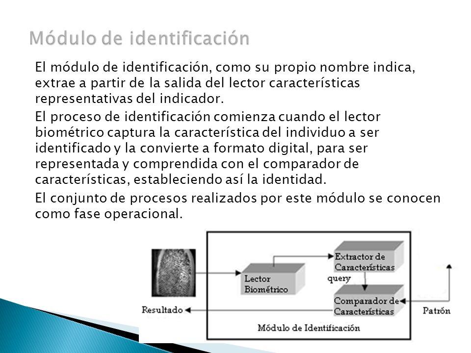 Módulo de identificación