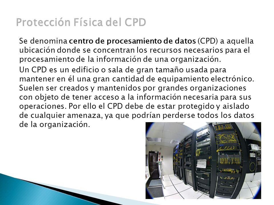 Protección Física del CPD