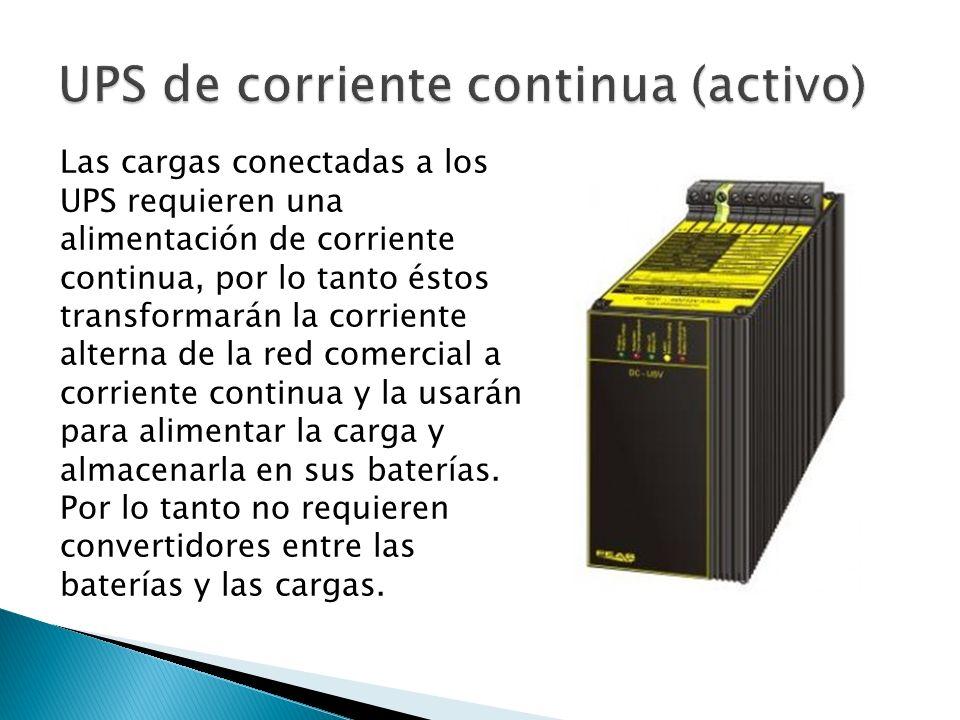 UPS de corriente continua (activo)
