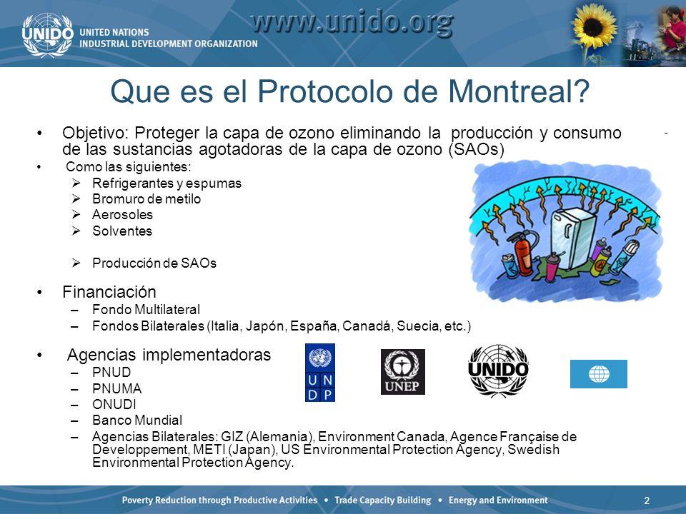 Que es el Protocolo de Montreal