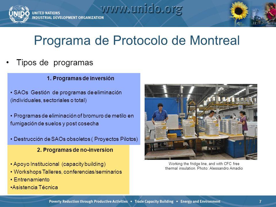 Programa de Protocolo de Montreal