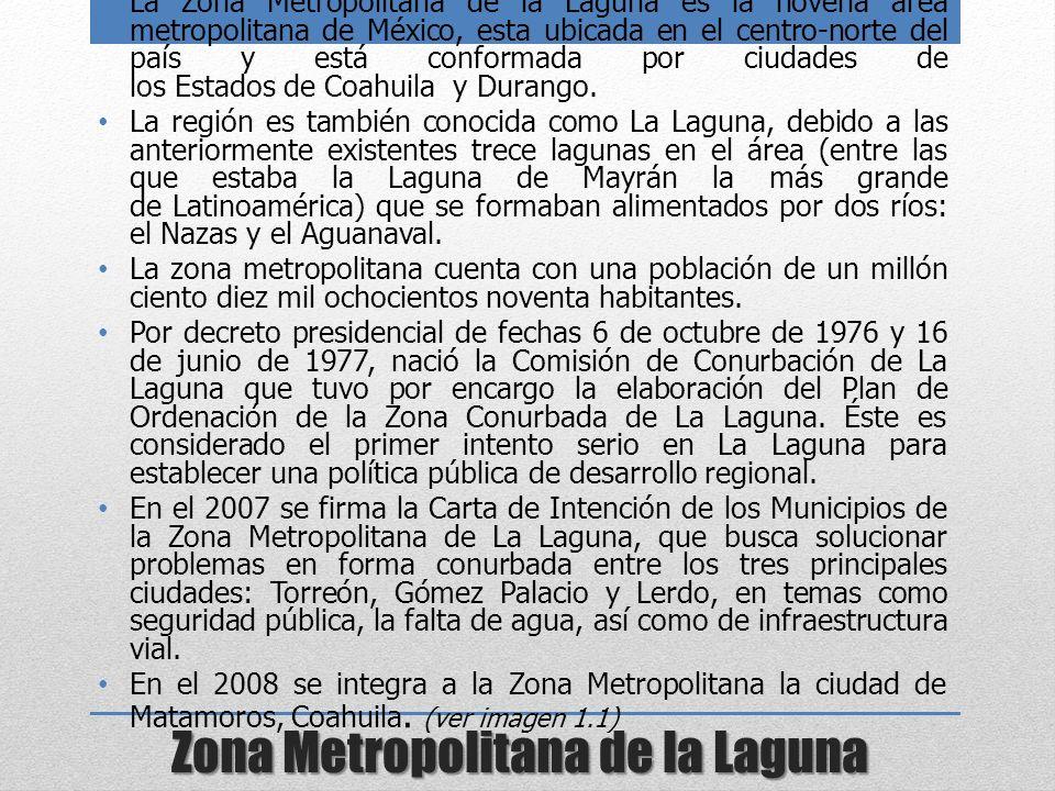 Zona Metropolitana de la Laguna