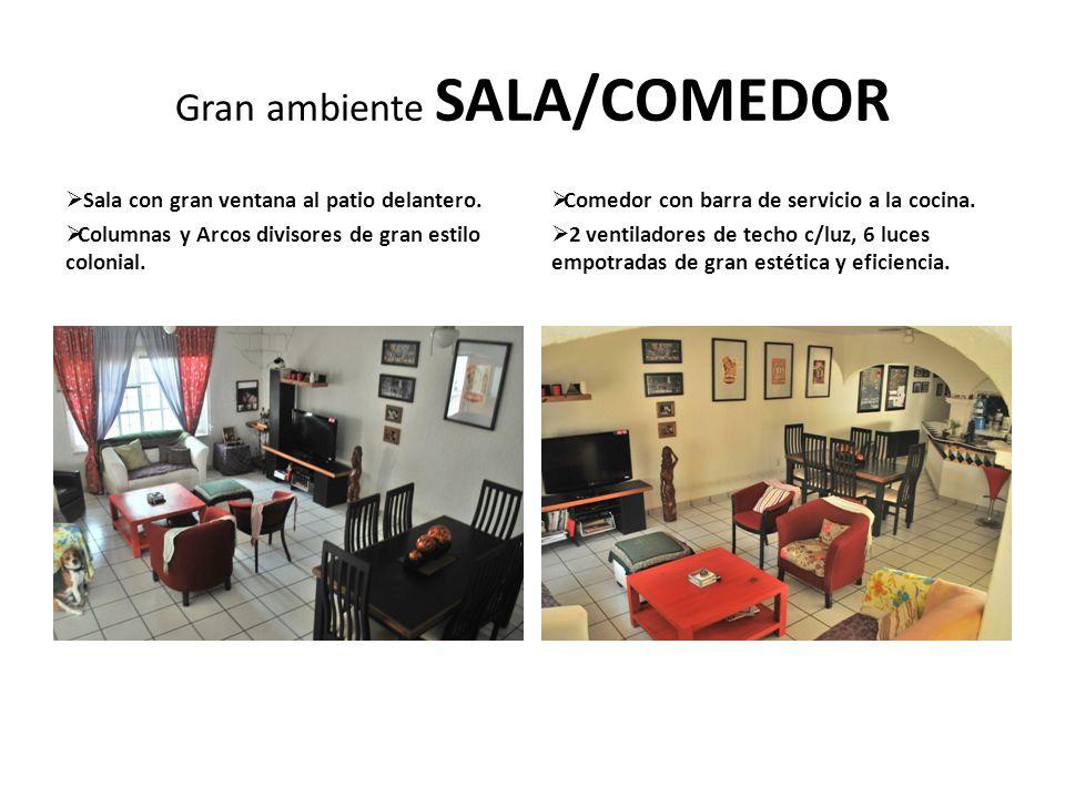 Gran ambiente SALA/COMEDOR