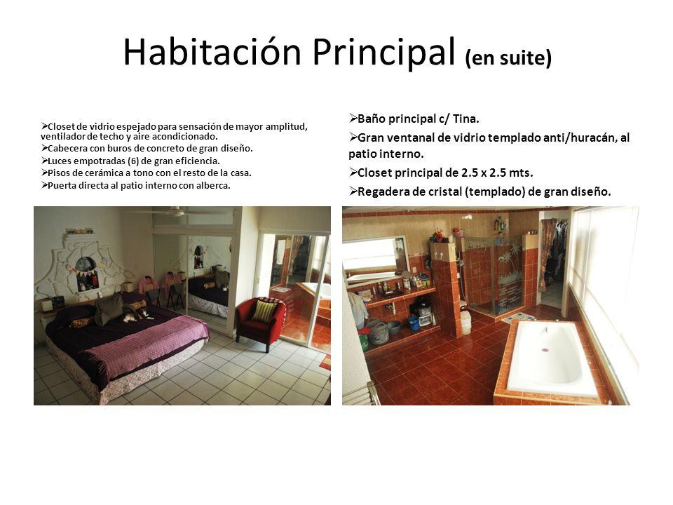 Habitación Principal (en suite)