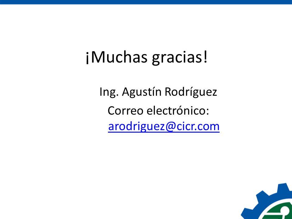 Correo electrónico: arodriguez@cicr.com