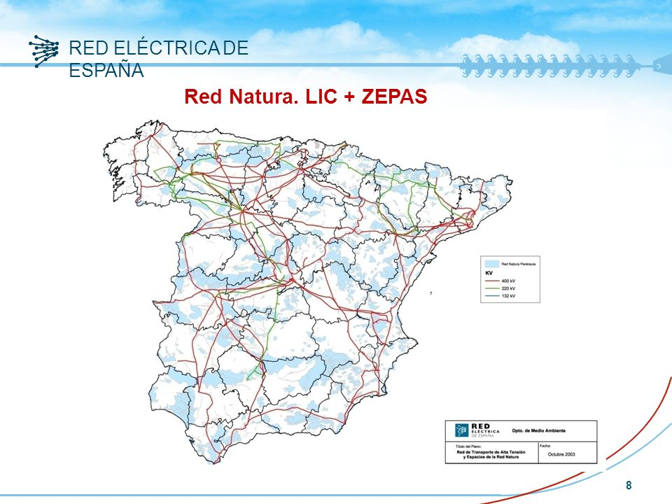 Red Natura. LIC + ZEPAS
