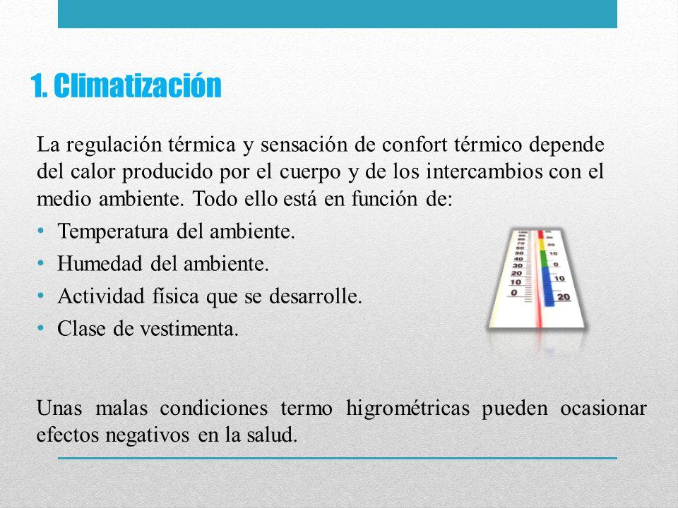 1. Climatización