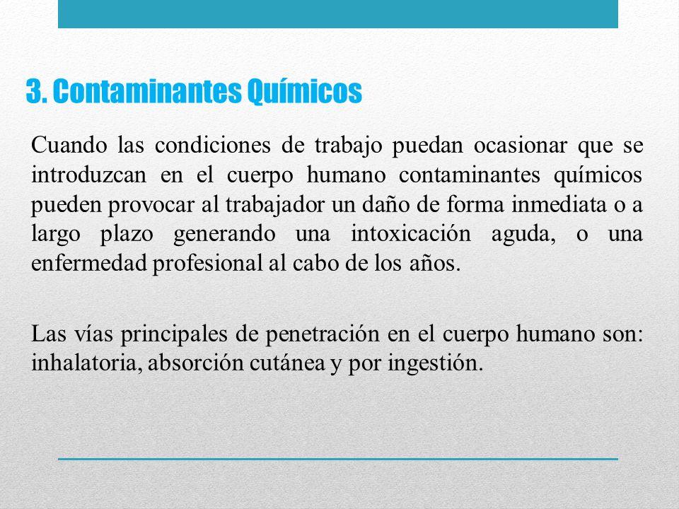 3. Contaminantes Químicos