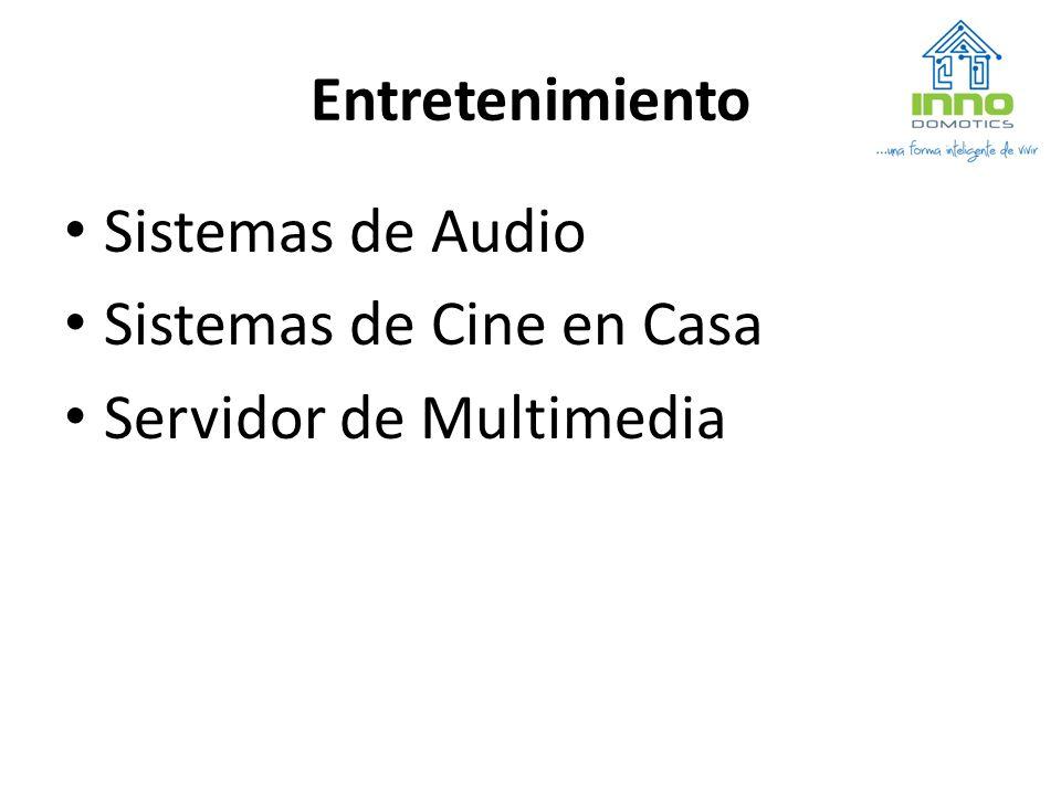 Entretenimiento Sistemas de Audio Sistemas de Cine en Casa Servidor de Multimedia