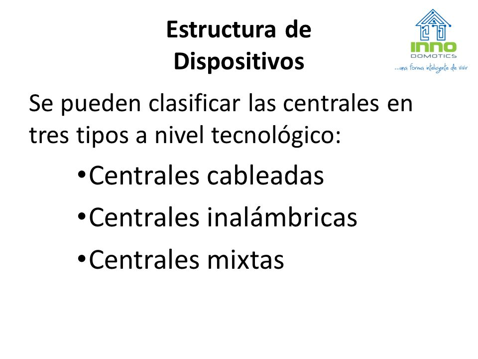 Estructura de Dispositivos