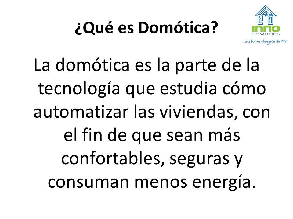¿Qué es Domótica