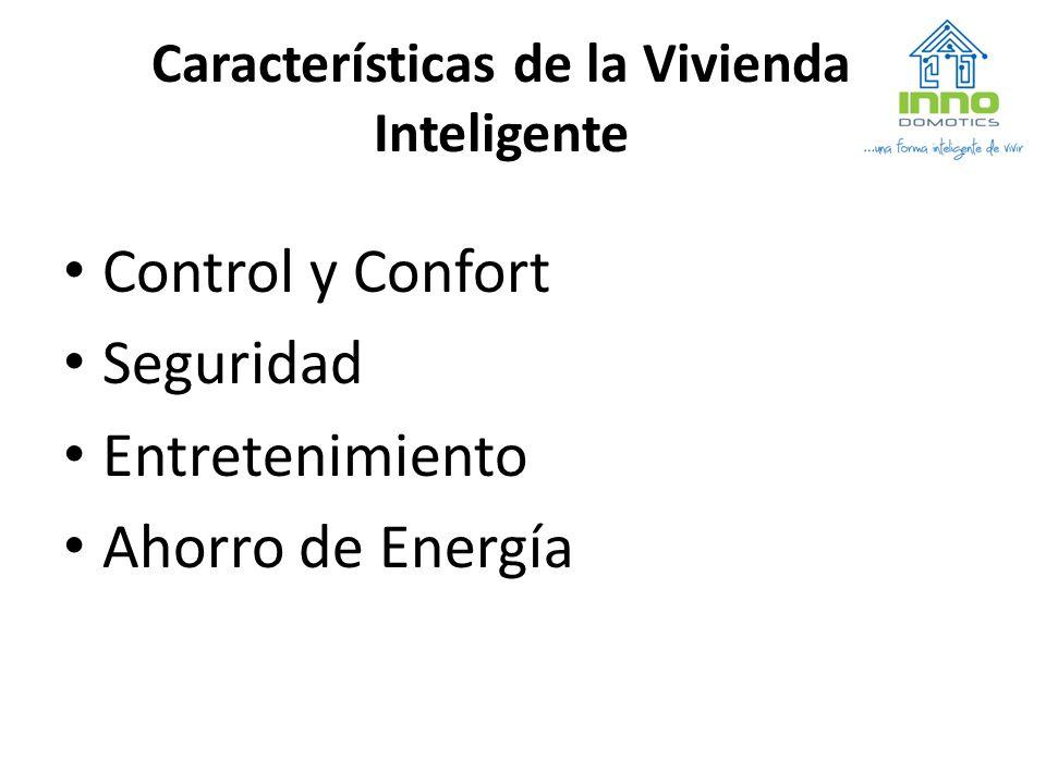 Características de la Vivienda Inteligente
