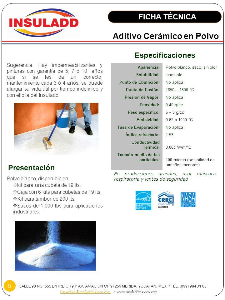 alejandrac@insuladdmexico.com / www.insuladdmexico.com