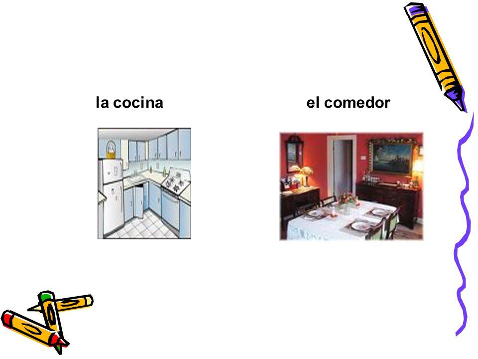 la cocina el comedor