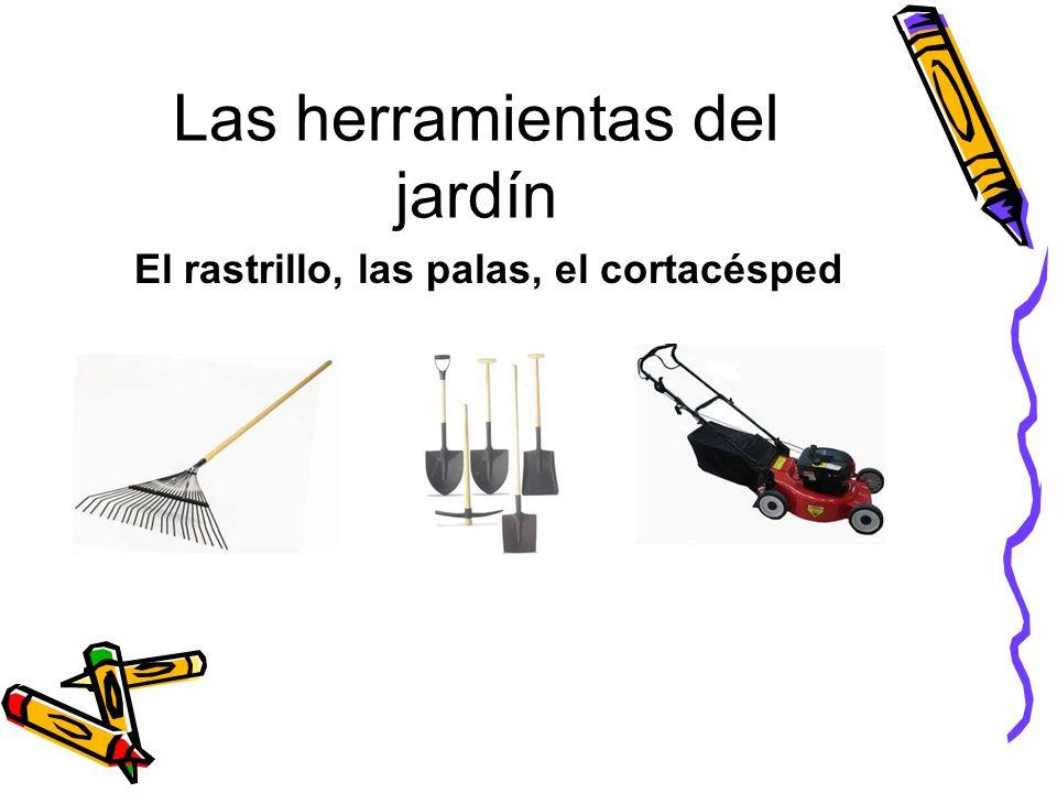 Las herramientas del jardín