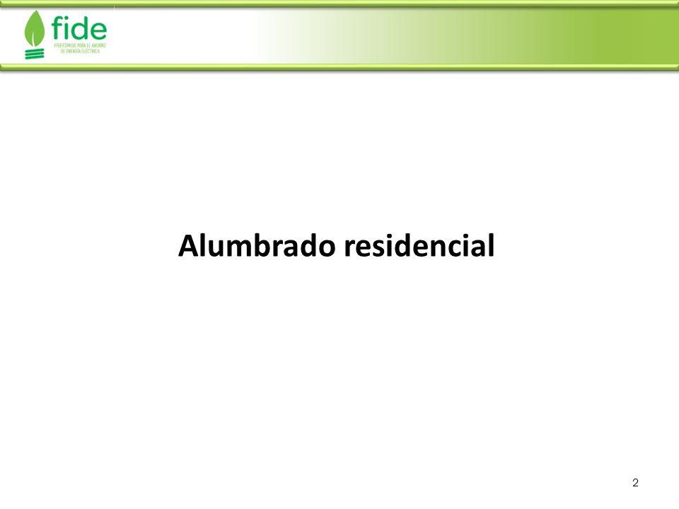 Alumbrado residencial