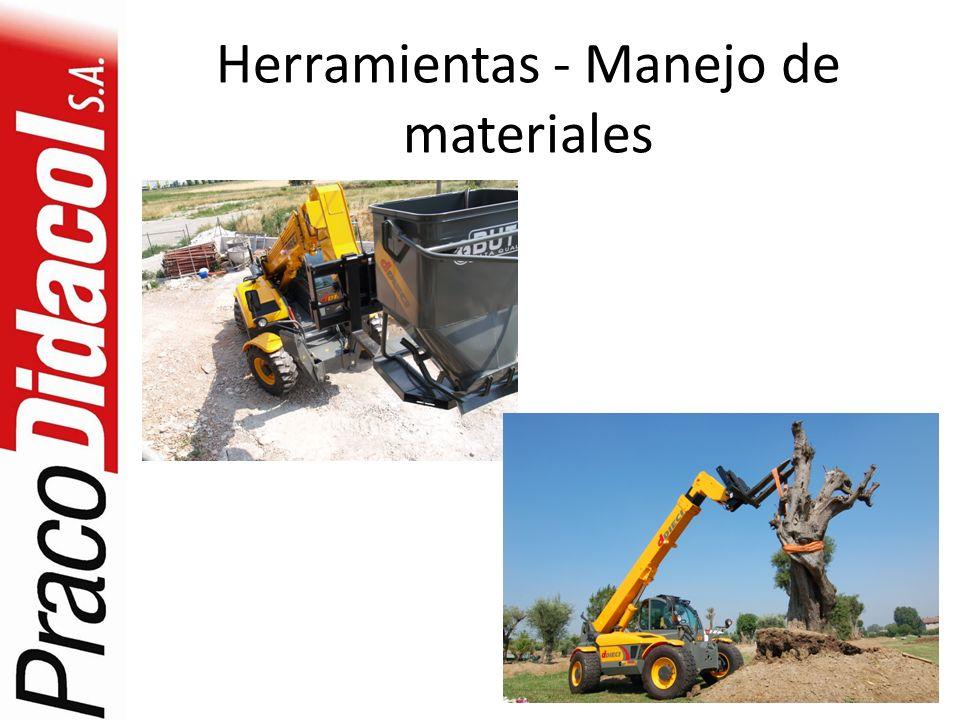 Herramientas - Manejo de materiales