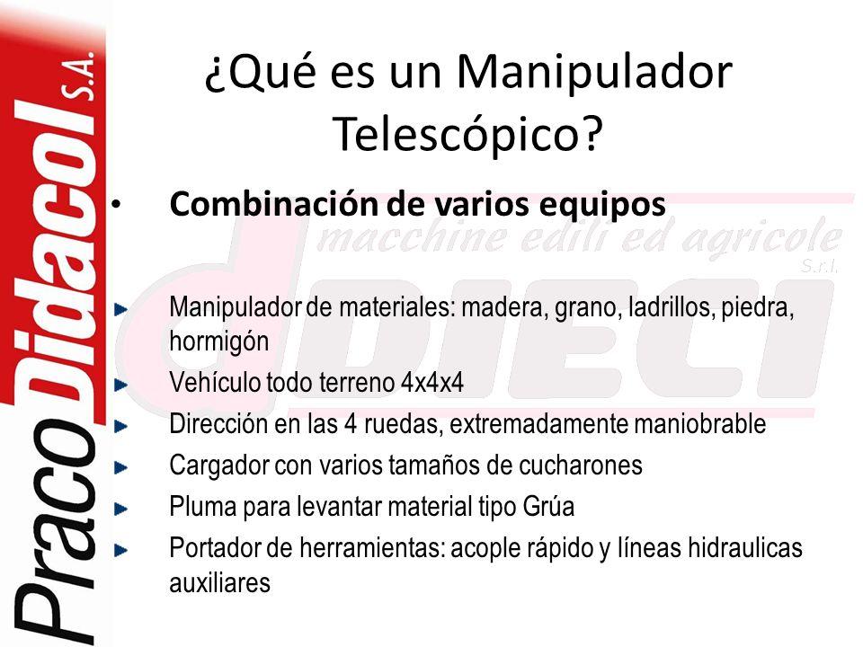 ¿Qué es un Manipulador Telescópico