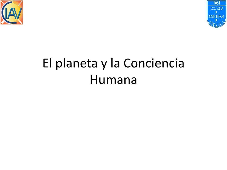 El planeta y la Conciencia Humana