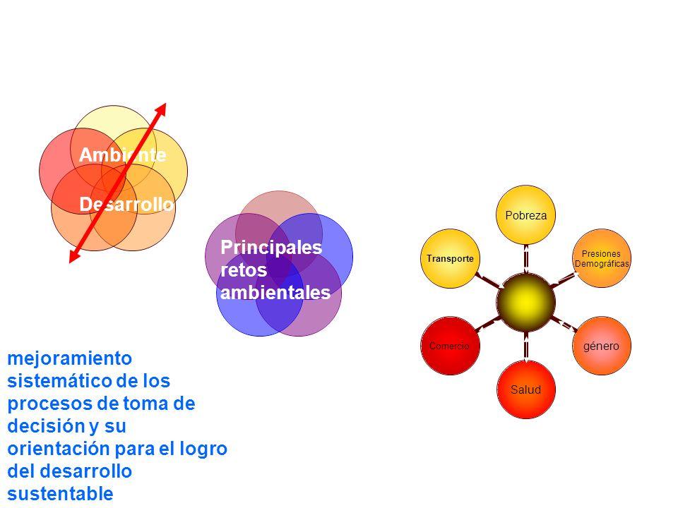 INTERRELACIONES múltiples procesos biofísicos y sociales