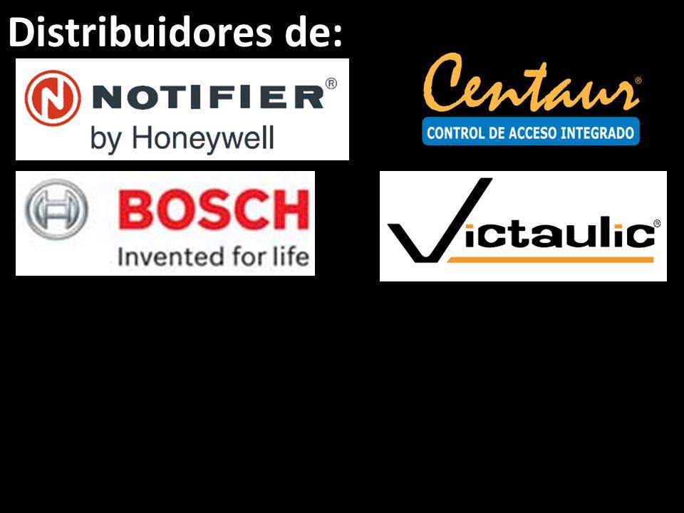 Distribuidores de: